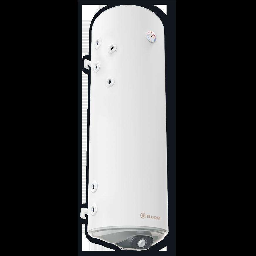 Комбиниран бойлер ELDOM Green Line 150 л, с две леви паралелни серпентини, неръждаем