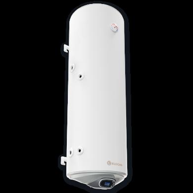 Комбиниран бойлер ELDOM Green Line 150 л, с електронно управление, ниска лява серпентина, неръждаем