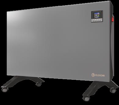 Подов конвектор с дистанционно Wi-Fi управление ELDOM Galant в сребрист цвят