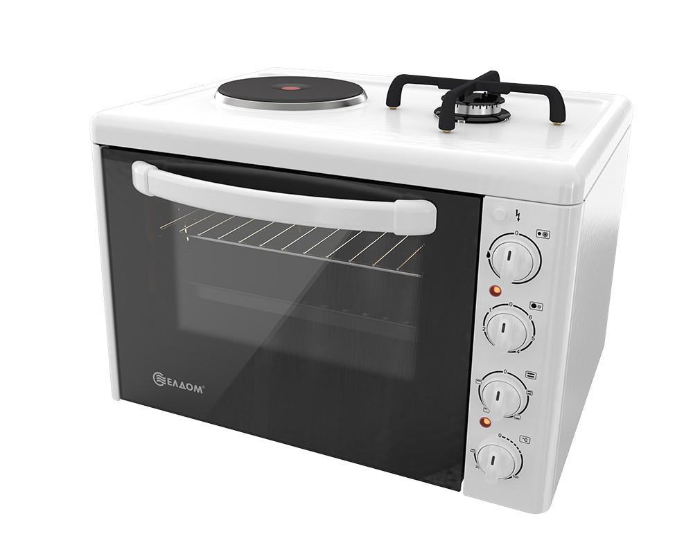 Мини готварска печка ЕЛДОМ 213VFE