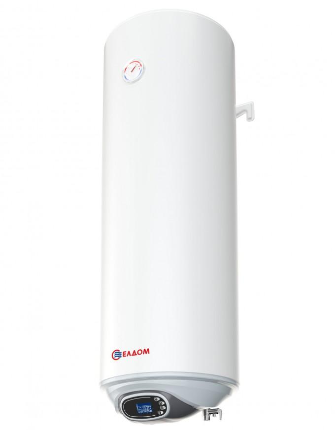 Бойлер ЕЛДОМ 80, 3 kW с интелигентно електронно управление, емайлиран