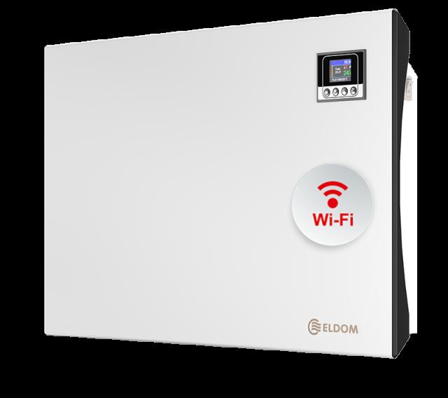 Стенен конвектор с електронно управление и wi-fi ELDOM Galant, 1500 W