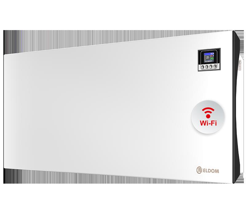 Стенен конвектор с електронно управление и wi-fi ELDOM Galant, 2500 W