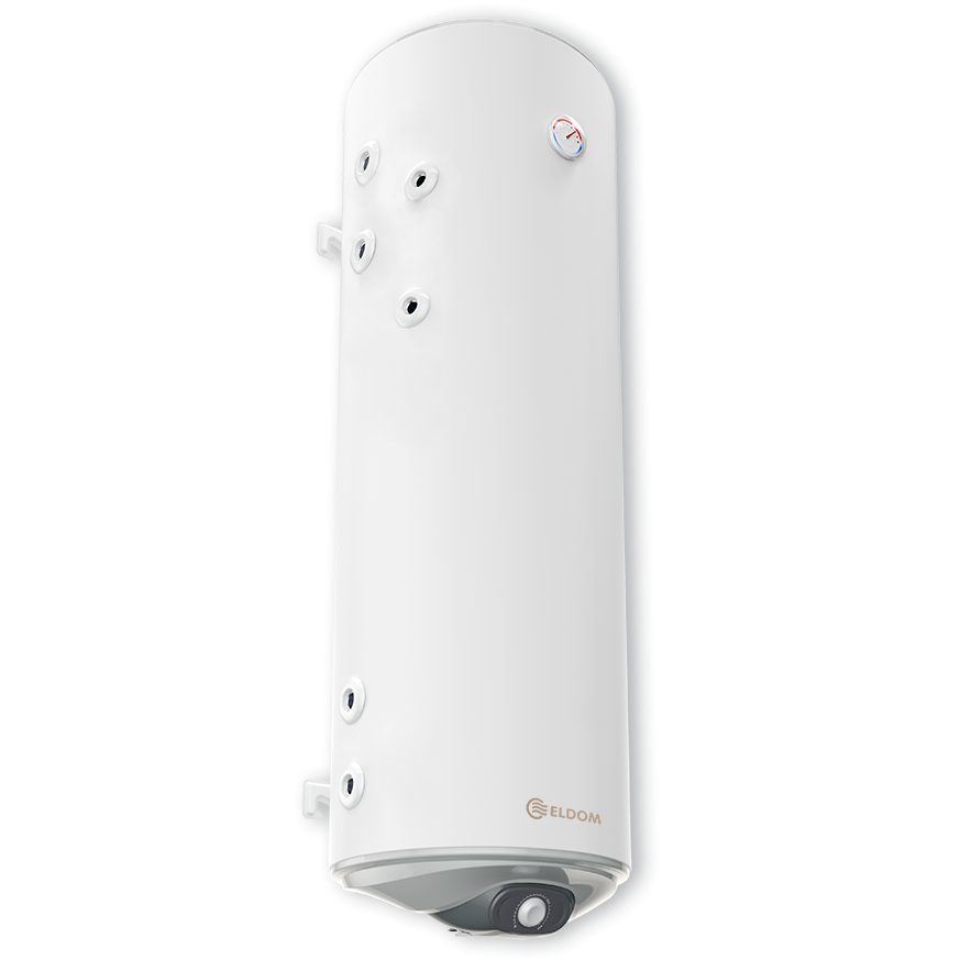 Комбиниран бойлер ELDOM Green Line 150 л, с две леви паралелни серпентини, емайлиран