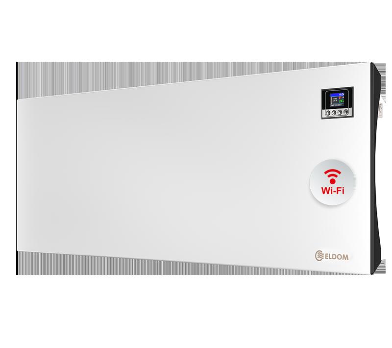 Стенен конвектор с електронно управление и wi-fi ELDOM Galant, 3000 W